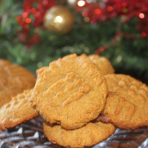 Peanut Butter Cookies (Sugar Free, Low Carb, Gluten Free, THM S)