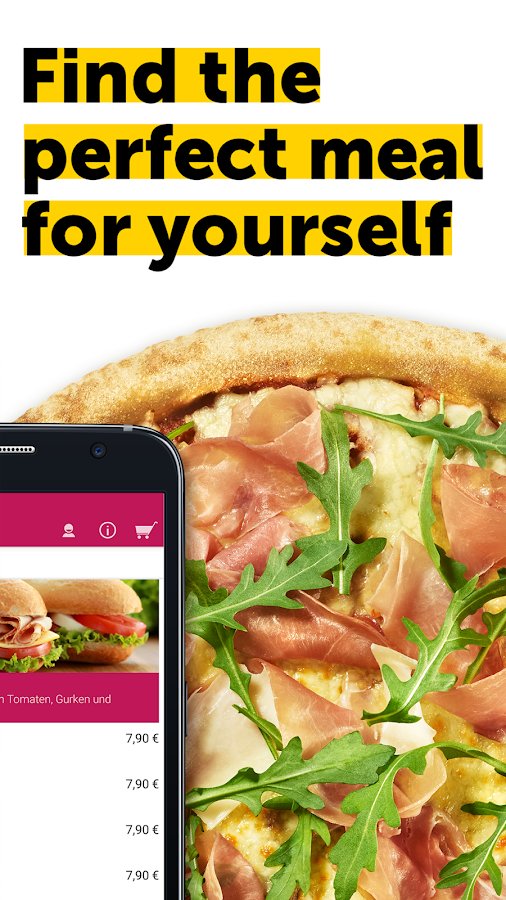 pizza.de - order food online Screenshot 4