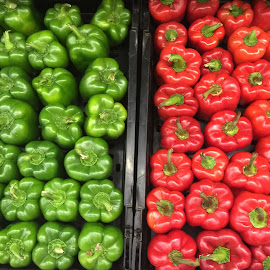 just peppers by Mary Yeo - Food & Drink Ingredients (  )