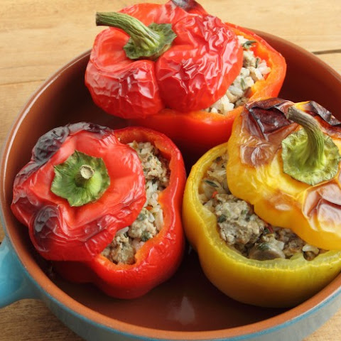 Armenian Stuffed Peppers