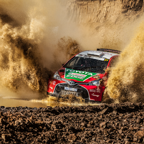 Splash02 by Johan Niemand - Sports & Fitness Motorsports ( car, rally, splash, drive, dirt, race )