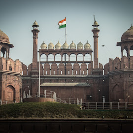Red Fort by Swapnil Keshari - Buildings & Architecture Architectural Detail ( picoftheday, bestoftheday, architectural detail, red fort, delhi )