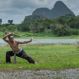 Martial Art by Syed Mohd Yusrie Al-Jefri - Novices Only Portraits & People