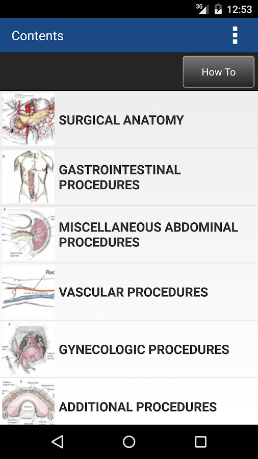 Zollinger's Atlas of Surgery Screenshot 1