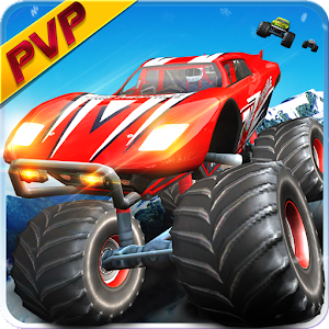 Monster Truck Racing Game: PVP