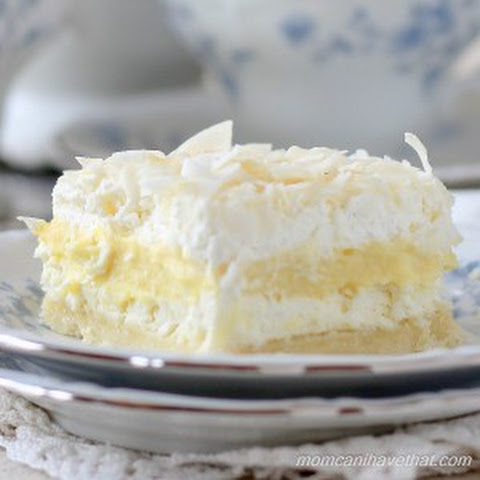 Coconut Cream Layered Dream | low carb, gluten-free