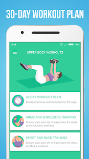 App Upper Body Workouts apk for kindle fire