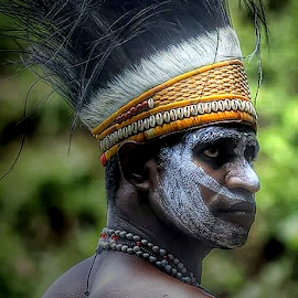 See Me by Yohanes Arief Dewanto - People Portraits of Men ( indonesia, traditional, asmat, papua, men )