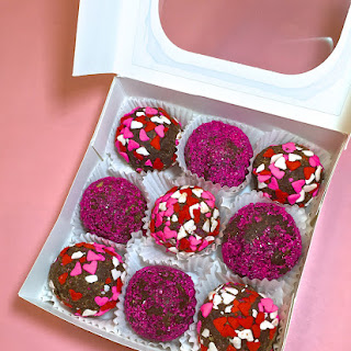 Dunkin' Donuts White Chocolate Raspberry Latte Truffles