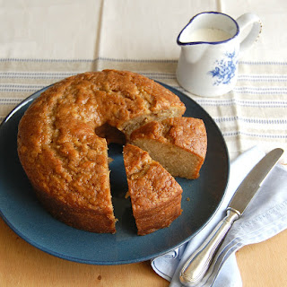 Apple Cake With Maple Glaze