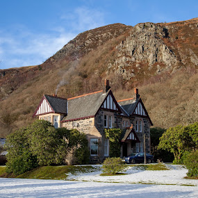 Traditional Scottish Architecture by Iain Cathro - Buildings & Architecture Homes ( scotlland, aberfoyle, sir walter scott, architecture, trossachs )