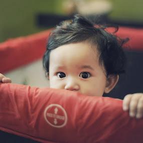 Shy by Syafizul  Abdullah - Babies & Children Children Candids