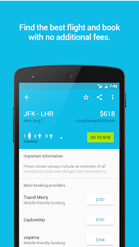 Skyscanner APK screenshot thumbnail 2