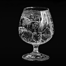 Sparkling Jamuns by Prasanta Das - Food & Drink Fruits & Vegetables ( sparkling, jamuns, glass, soda )