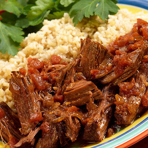 Slow-Cooker Beef and Salsa