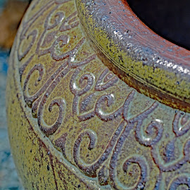 by Victoria Eversole - Artistic Objects Other Objects ( georgia gardens, ceramic pot, gardening )
