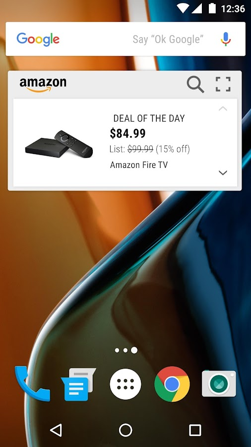Amazon Widget Screenshot 0