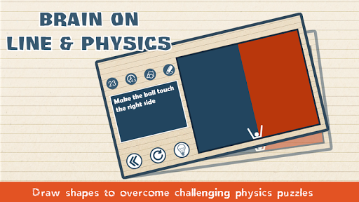 Brain on Line vs Physics Puzzle