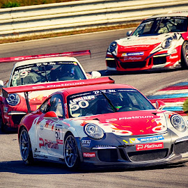 When cars goes to War by Jiri Cetkovsky - Sports & Fitness Motorsports ( car, brno, masarzk, porsche, race, duel )