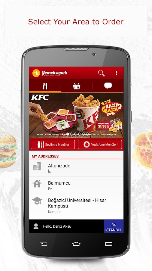 Yemeksepeti -Order Food Easily Screenshot