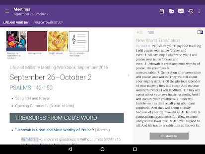 Free JW Library APK for Windows 8