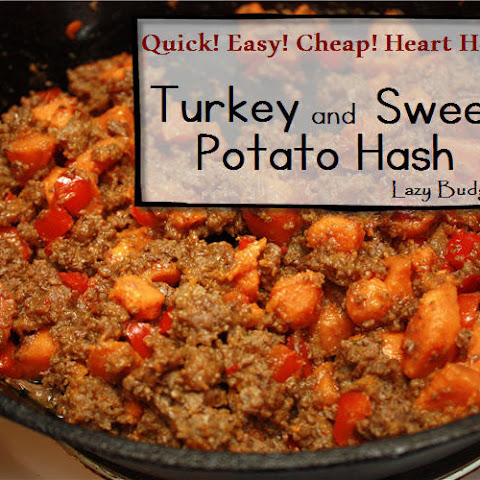 One Pot Dinner Turkey and Sweet Potato Hash