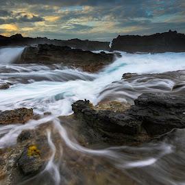 sawarna by Rocky Jaya - Landscapes Waterscapes