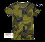 Brandit Ladies T-Shirt - Brandit - камуфляж шведский