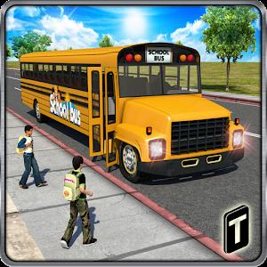 Schoolbus Driver 3D SIM For PC