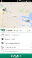Screenshot of Horsens Taxa