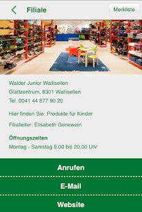 Walder Schuhe & Walder Junior - screenshot