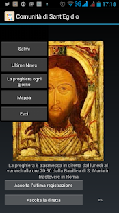 Preghiera con Sant'Egidio - screenshot
