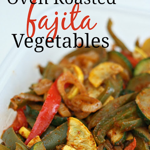 Oven Roasted Fajita Vegetables