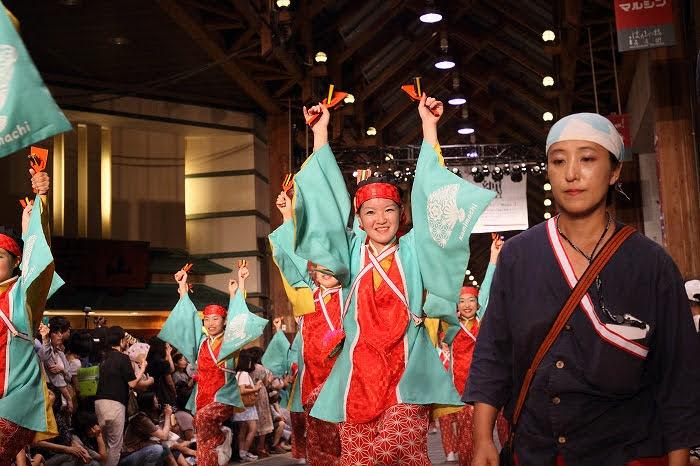 第61回よさこい祭り☆本祭2日目・はりまや橋競演場37☆上1目1461