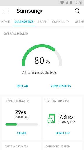Samsung+ screenshot 2