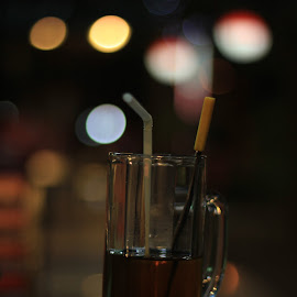 segelas teh by Kholis Abida - Food & Drink Alcohol & Drinks ( cool, bokeh mantap, beautiful, good, collection, object, bokeh, indonesia, background, drink, glass, classic, closeup,  )