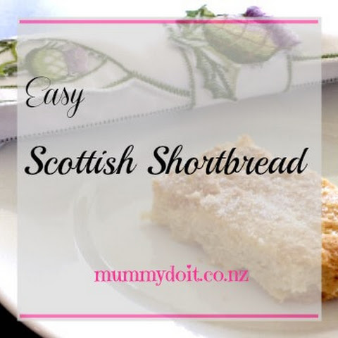 Easy Scottish Shortbread