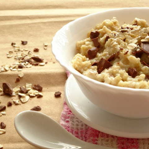 Chocolate Chip Cookie Dough Oatmeal