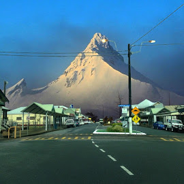 Mountain  by Brett Smith - City,  Street & Park  Historic Districts