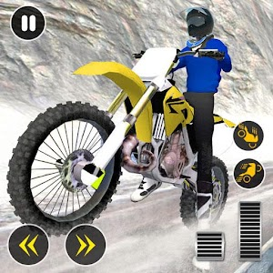 Snow Mountain Bike Racing 2019 - Motocross Race For PC / Windows 7/8/10 / Mac – Free Download