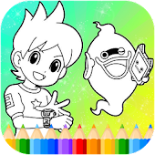 Game Yokai Coloring Game for Nate and Whisper APK for Windows Phone