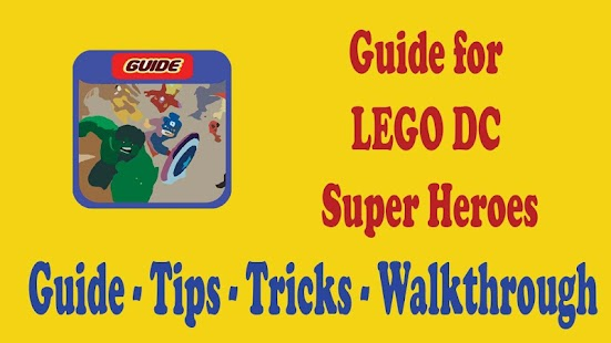 Guide for LEGO DC Super Heroes - screenshot