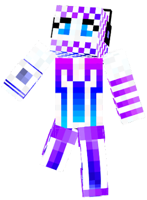 Alien robot is the best FRIEND of Amazing girl so they have the same editions of their skins (there was a mistake in other descriptions)
