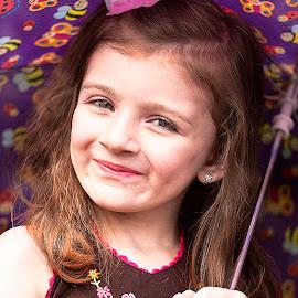 Little Miss Sunshine by Nancy Senchak - Babies & Children Child Portraits