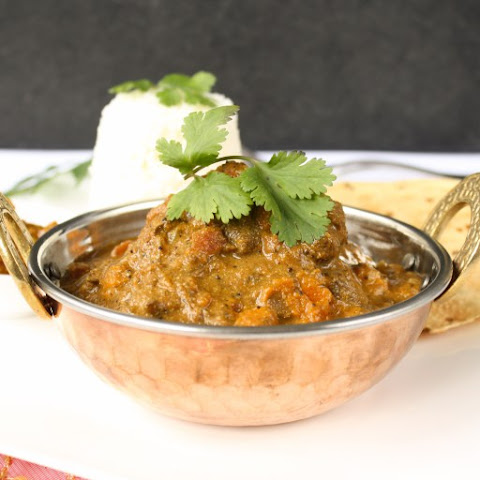 Slow Cooker Lamb Curry (or Beef)