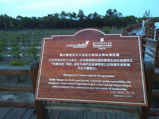 香格里拉大酒店红树林种养区