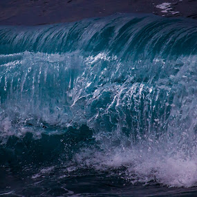 by Nicolas Los Baños - Nature Up Close Water ( water, kona, nature, blue, waves, tropical, ocean, teal, aquamarine, kailuakona, paradise )