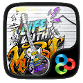 Music life GO Launcher Theme v1.1.6 icon