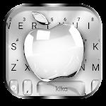 Silver Crystal Apple Keyboard Theme Icon