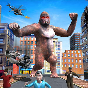 Real Gorilla Rampage Simulator For PC / Windows 7/8/10 / Mac – Free Download